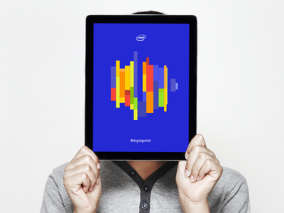 Intel Portrait intel work pitch freelance ideation