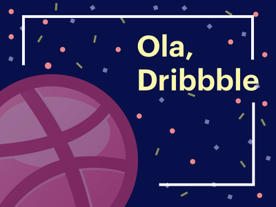 First Shot freestyle minimal basketball illustration debut dribbble draft first shot