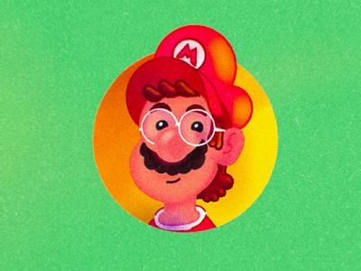 Mario Time / Leopoldo game mario nintendo luigi art