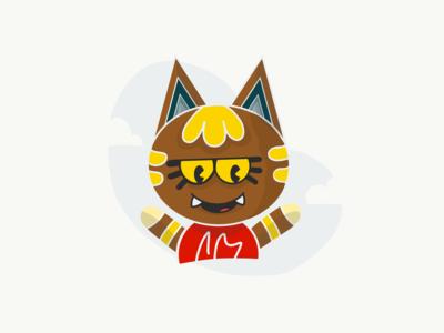 Katt - Animal Crossing / Leopoldo