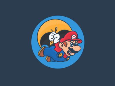 Mario's physiognomy in the 1990s. Nintendo.