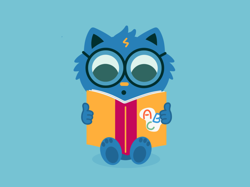 Harry Cat / Leopoldo color animation new design art cartoon character dribbble illustration vector adobe happy cat harry potter harrypotter