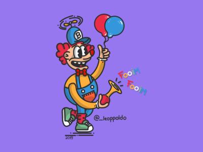El payaso justiciero / Leopoldo