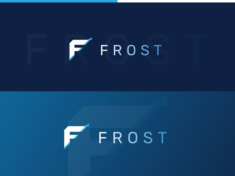 Frost Logos - Investment Company vector design branding concepts logos graphic logo