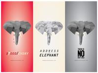 Address The Elephant | Lowpoly Type