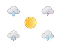 Gradient Weather Icons