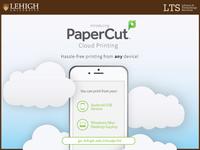 Papercut Cloud Printing Ad