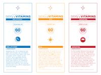 Sexy Vitamins Labels