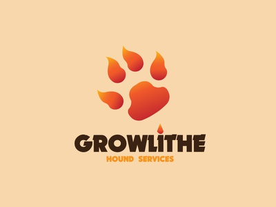 Growlithe Hound Services services hound growlithe logos poke