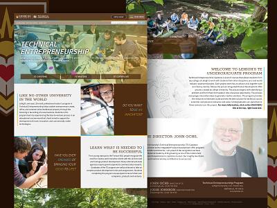 Technical Entrepreneurship Website entrepreneurship photography tech design website technical