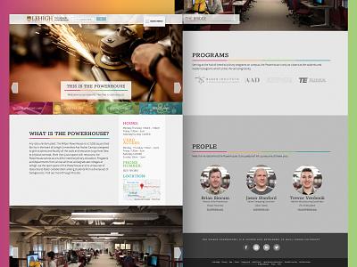 Powerhouse Website macs development design website powerhouse