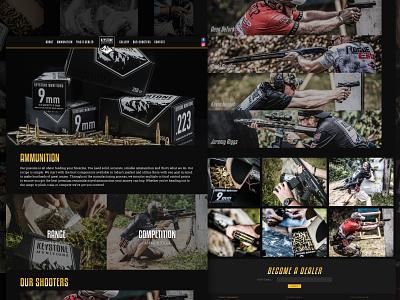 Keystone Munitions Website drupal graphic development design web