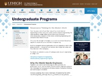 Engineering typicalpage undergraduateprograms