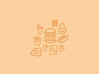 Foodtruck icons