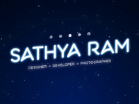 Sathya Ram | Website Hero Animation