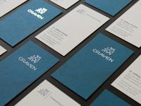 Craven Foil Stamped Cards