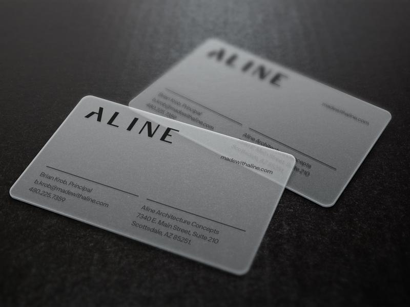 Aline business cards by atticsalt dribbble colourmoves
