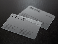 Aline Business Cards