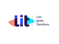 Logo concept for LIT conference