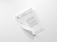 Aline Architecture Letterhead