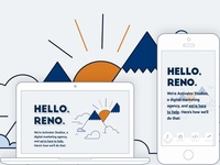 Reno, Nevada landing page