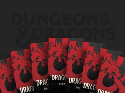 Launching new DUNGEONS & DRAGONS Dragonfire landing page gaming branding cards visual design ui design ux