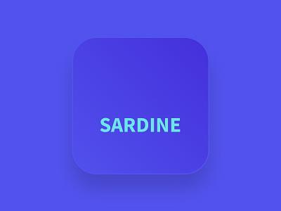 Sardine Savings and Securities  --  iOS App icon visual design ui design responsive design logo design branding ios app