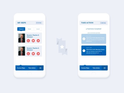 Political iOS app