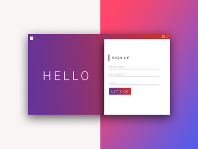 Daily UI Challenge - Sign Up userinterface ui design ui webdesign sign up dailyui