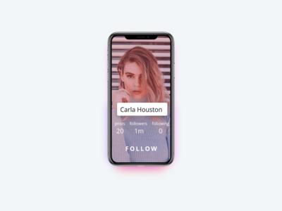 Daily UI Challenge - User Profile
