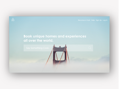 Airbnb Redesign interaction design interaction user interface ui airbnb