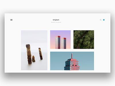 Unsplash Minimal Concept white user interface ui unsplash minimal