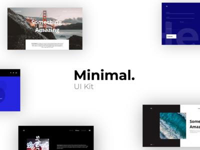 Minimal UI Kit - Adobe XD
