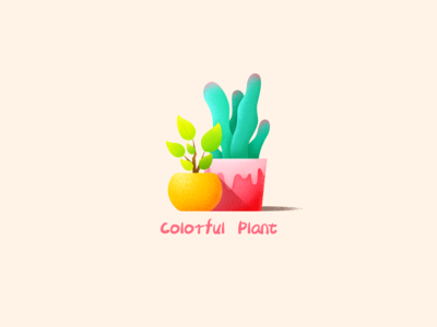 colorful plant