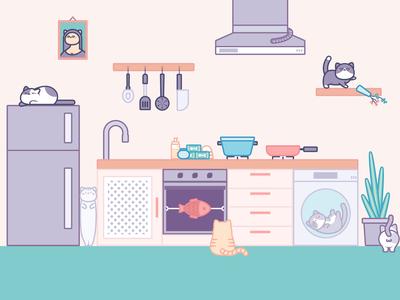 Cats Kitchen