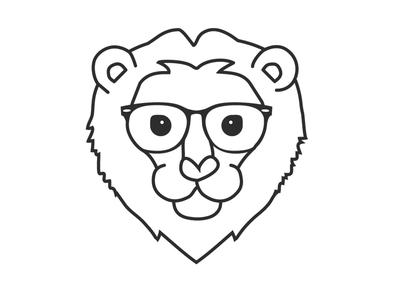 Ll - Lækker løve illustration