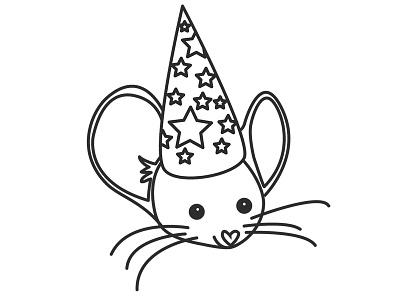 Mm - Magisk mus illustration