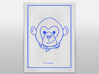 Cool Chimp illustration