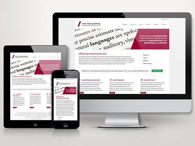 Fokus webpage ux