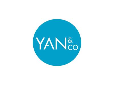 Logo for Yan&Co logo identity