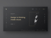 Designer Profile experiment