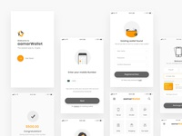 aamarWallet - Apps Wireframe - 01