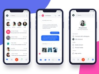 Siilo App Redesign Screen