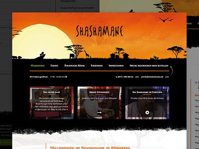 Ethiopian Bar and Restaurant webdesign website restaurant bar shashamane ethiopian