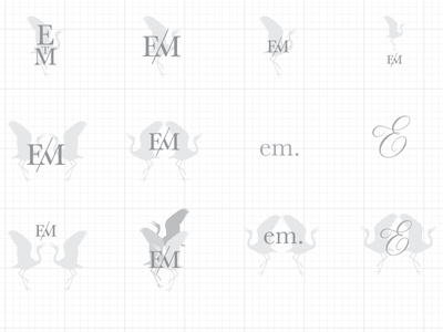 Crane Luxury Estate Branding WIP stationary logotype logo personal