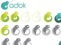 Chameleon Logo Process