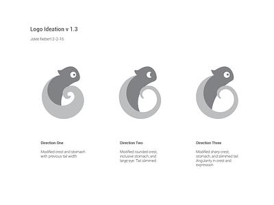 Logo ideation startup up start chameleon adok ideation logo
