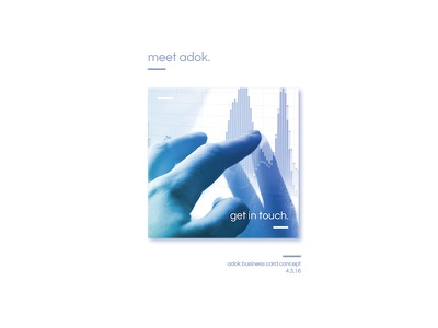Adok Business Card Proposal: Detail proposal client cards business