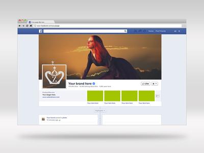 Zaritza logo & brand design: alt Facebook profile & cover design