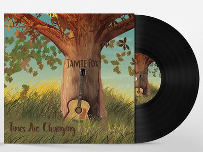 JAMIE FOX JACKET ALBUM PACKAGE DESIGN: final version mockup